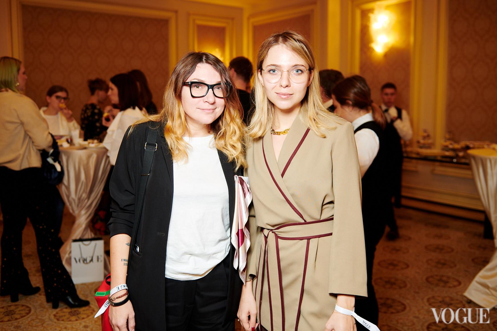 Татьяна Гринева и Мария Маслий