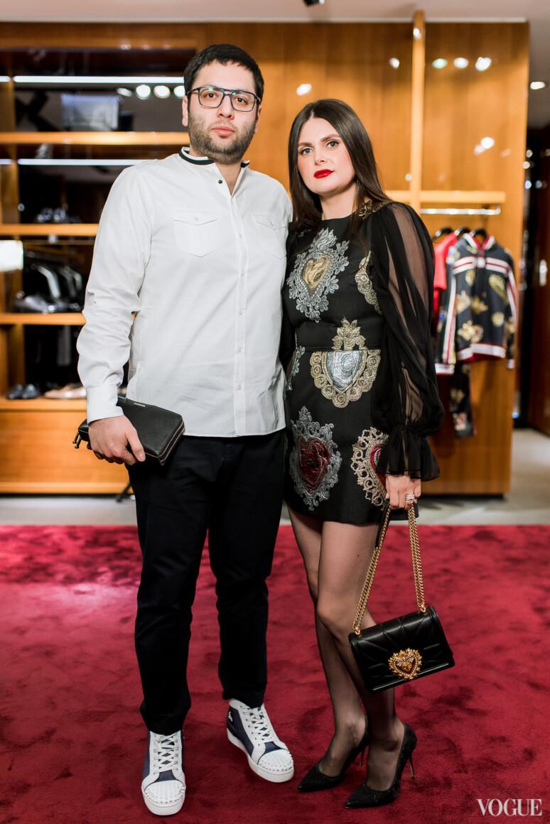 Мани и Наталья Агадавуди