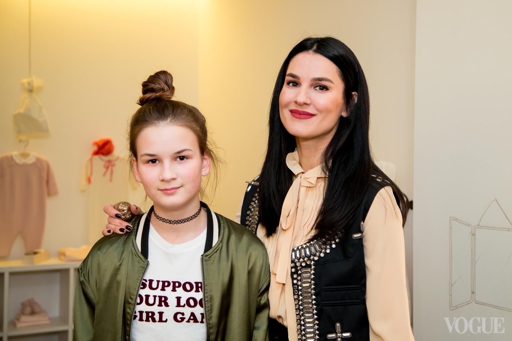 Нана Хромаева и Маша Ефросинина