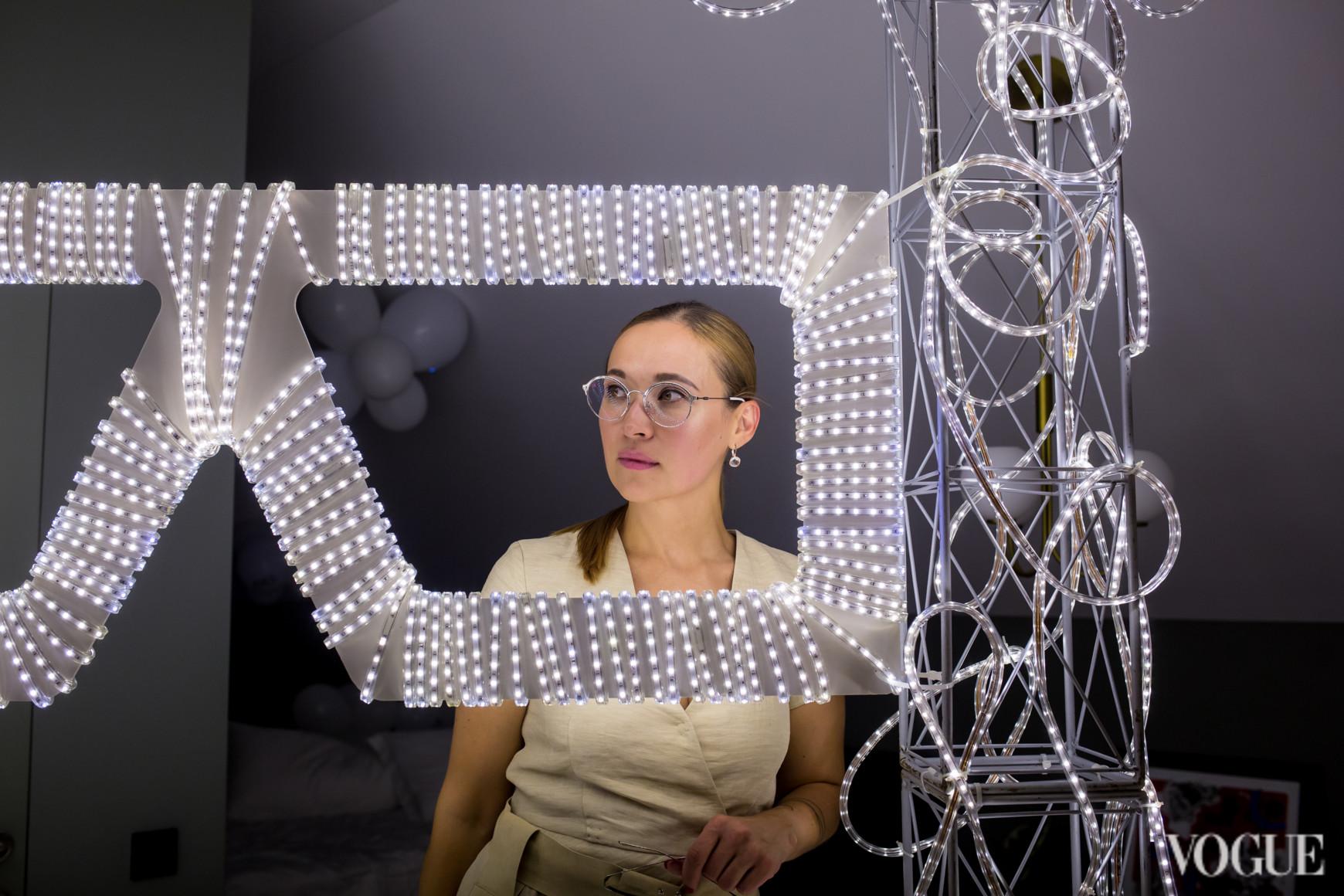 Алена Иванова в Evrooptika Glasses Room