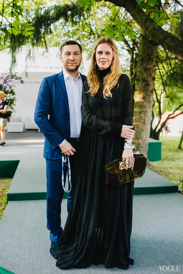 Мария Дидковская с мужем