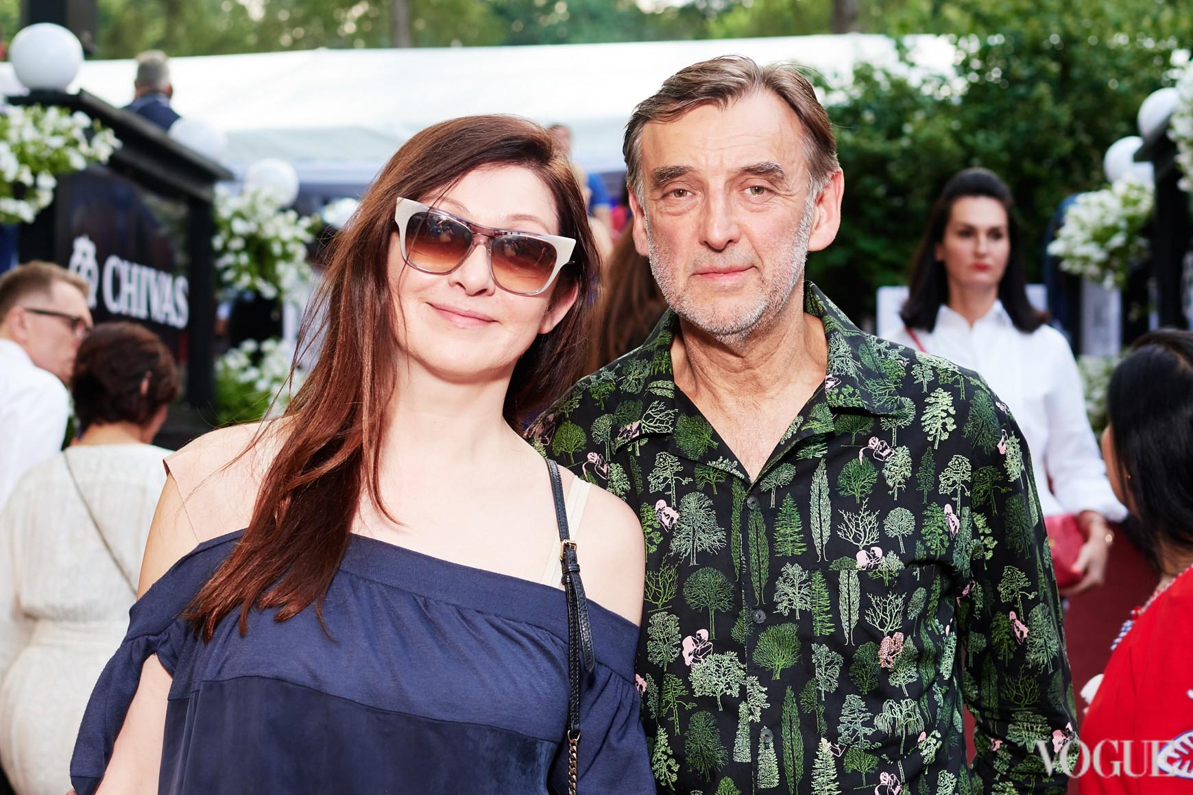 Оксана Караванская с мужем