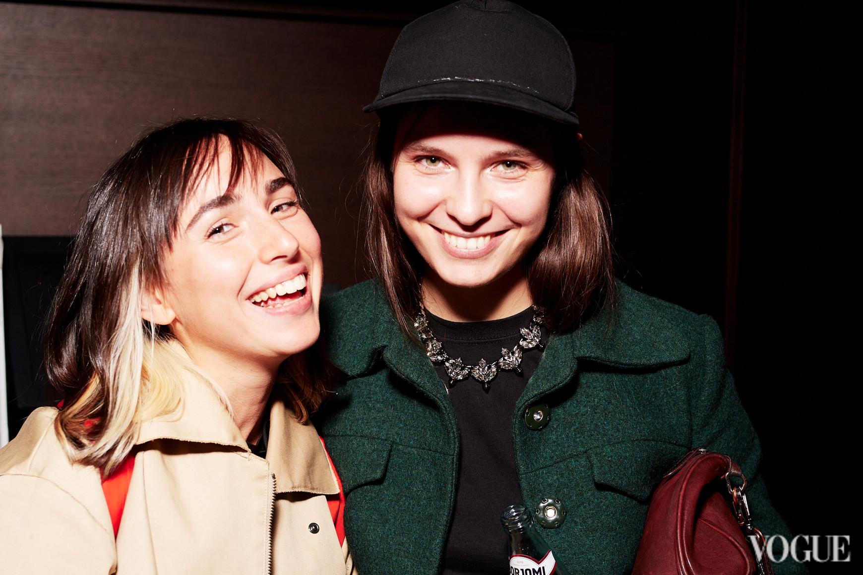 Юля Паскаль и Наталья Моденова