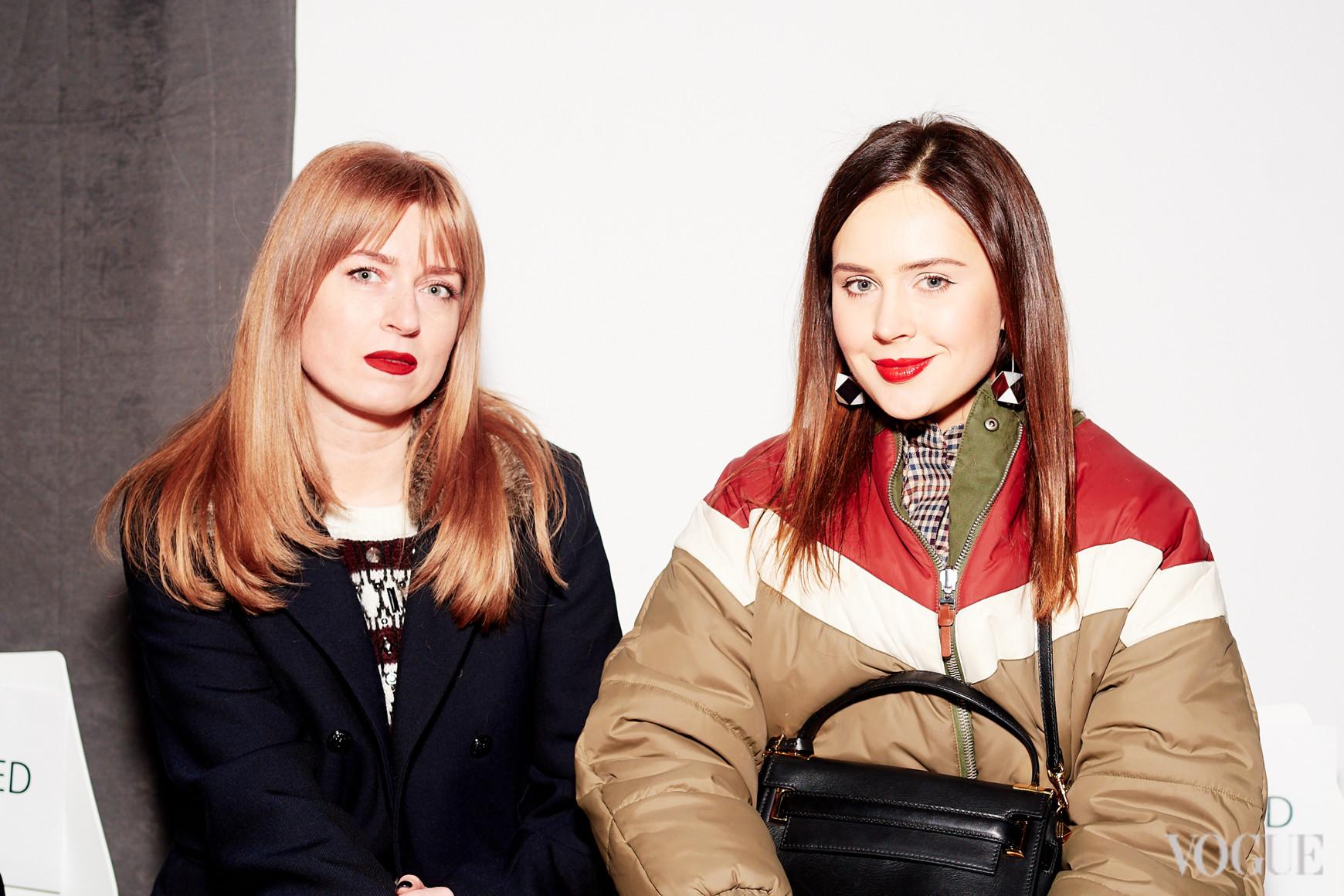 Катерина Марьяш (справа)