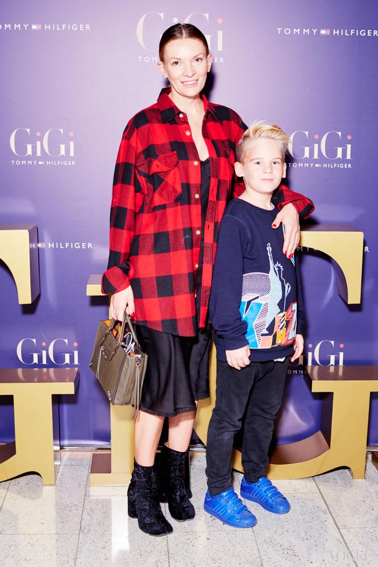 Полина Неня с сыном