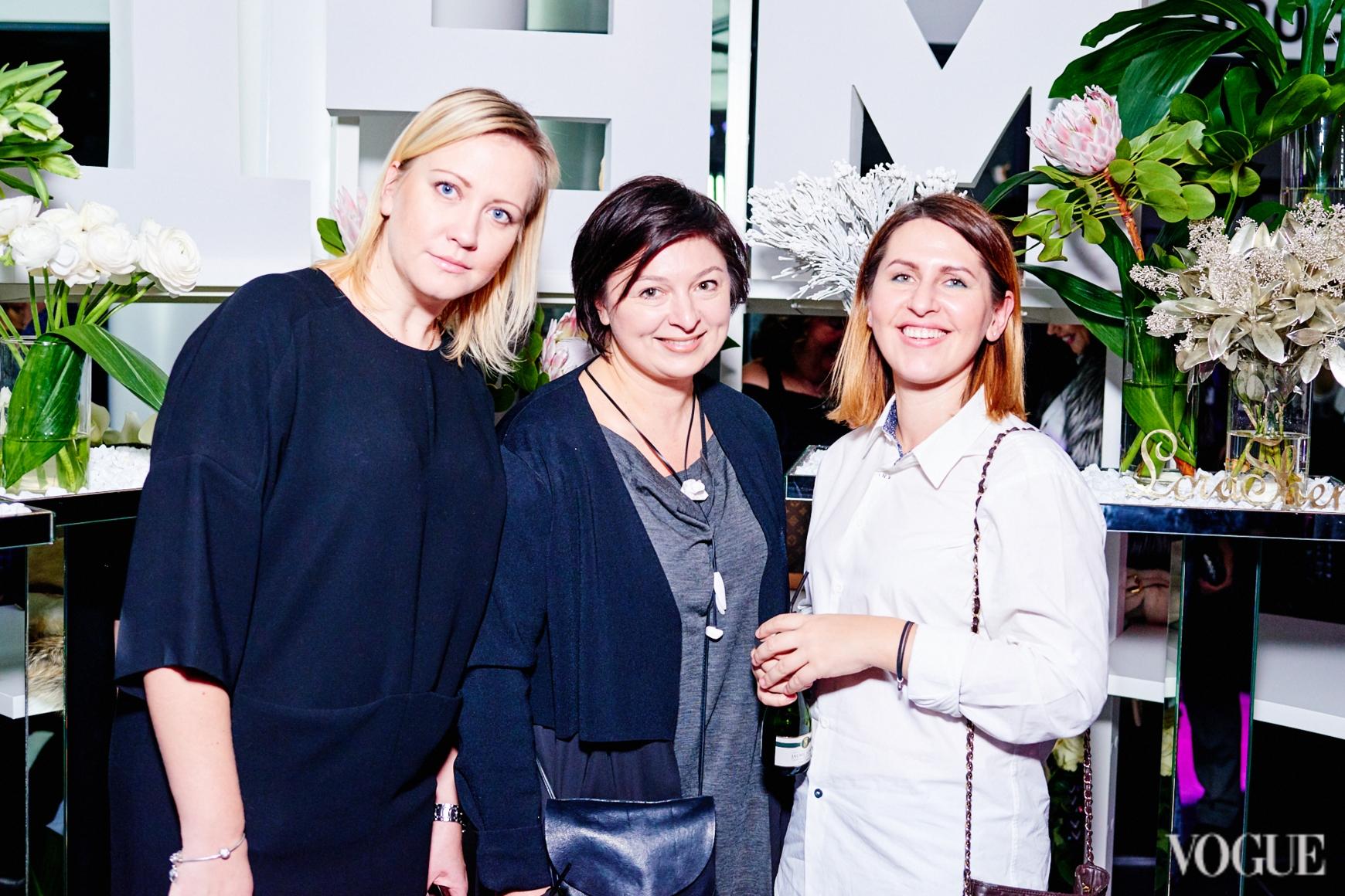 Оксана Циндинская, Кристина Бобкова и Алена Пономаренко
