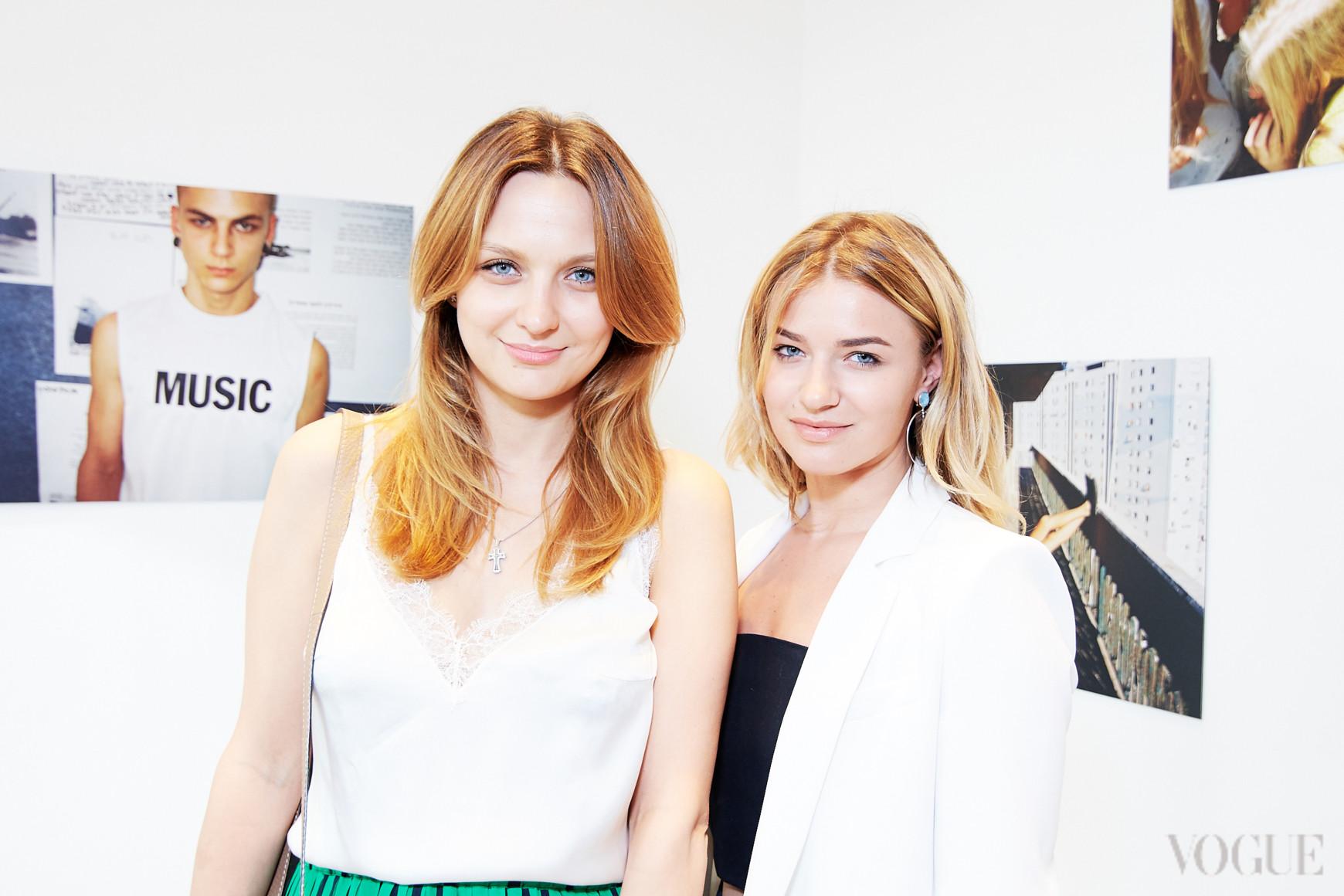 Алена Масюткина и Анна Плужник