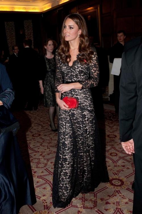 Кружевное платье в пол Temperley London (ноябрь 2012 года)