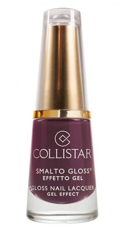 Маникюрный лак Gloss Nail Lacquer Gel Effect, Anna Burgundy, Collistar
