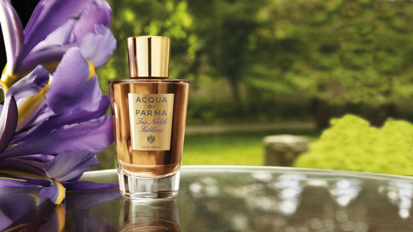 Парфюмированная вода с нотами тосканского ириса, иланг-иланга и акации Iris Nobile Sublime, Acqua di Parma