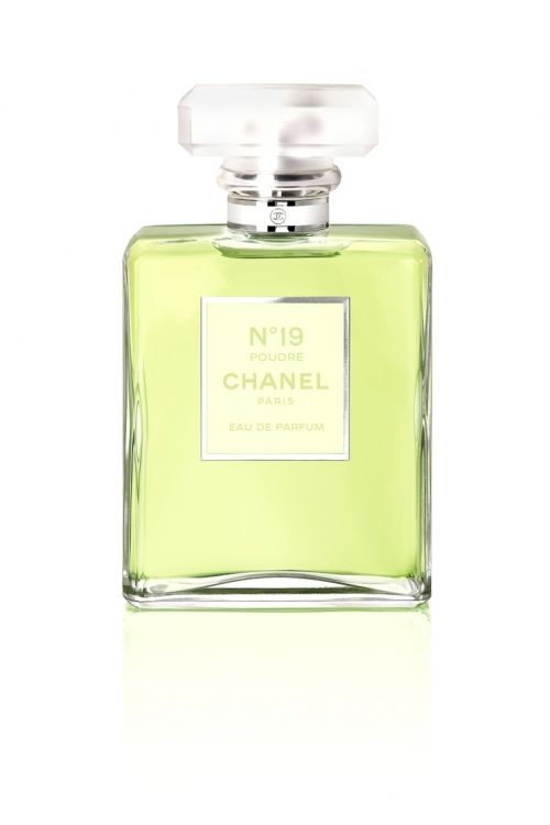 Парфюмированная вода с нотами ириса, ветивера и мускуса N 19 Poudre, Chanel