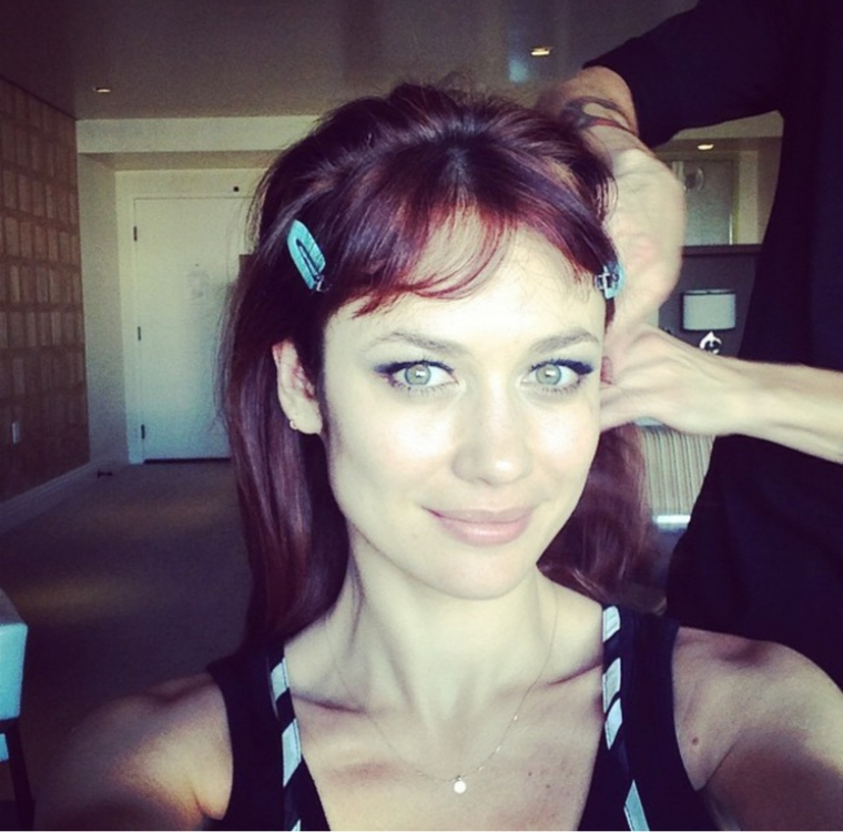 В Лос-Анжелесе, перед премьерой. Фото из официального инстаграма актрисы