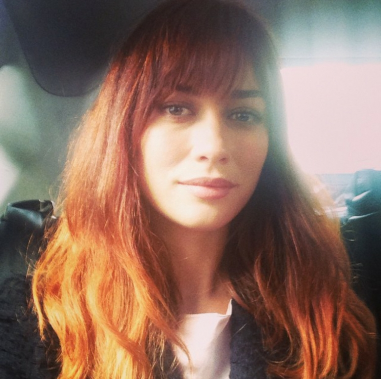 Ольга в Лондоне, фото из официального инстаграм актрисы