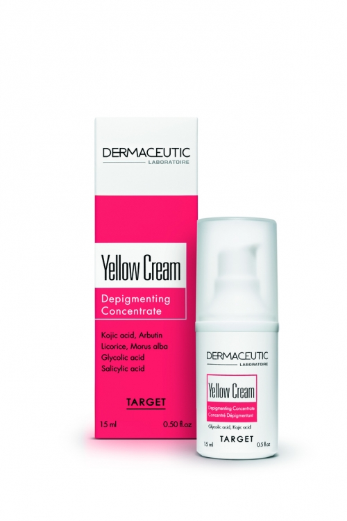 Ночной депигментирующий крем Yellow Cream