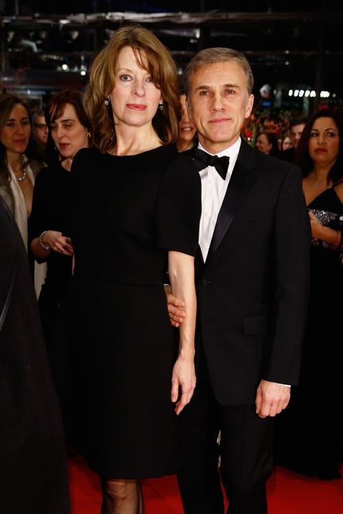 Кристоф Вальц с женой Юдит Хольсте
