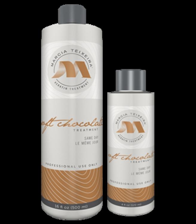 Кератиновое выпрямление волос Marcia Teixeira - состав Soft Chocolate