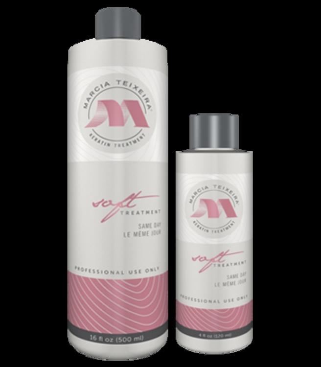 Кератиновое выпрямление волос Marcia Teixeira - состав Soft