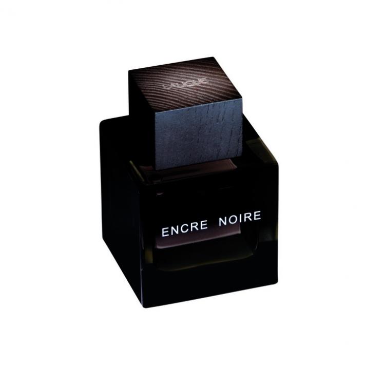 Encre Noire с нотами кипариса, ветивера и кашемирового дерева на мускусной базе, Lalique