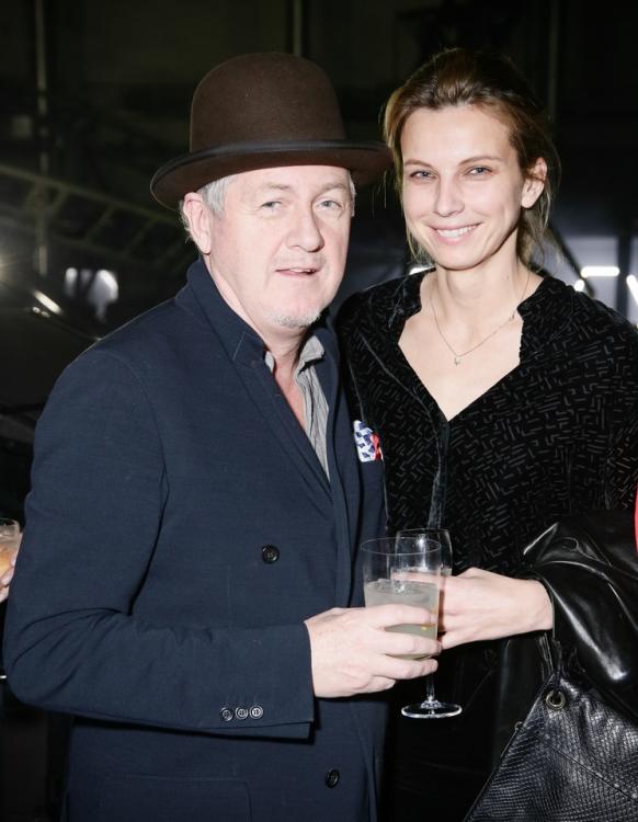 Годфри Дини (слева)