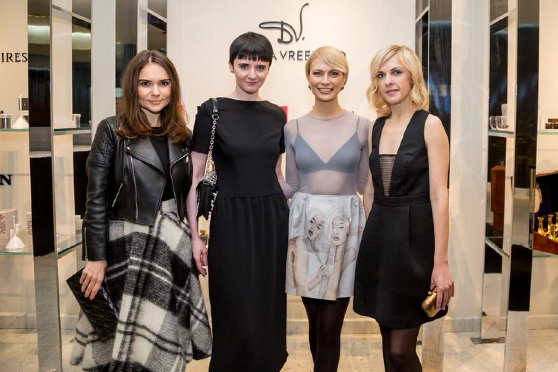 Алена Лавренюк, Ольга Януль, Маша Цуканова и Юлия Костецкая