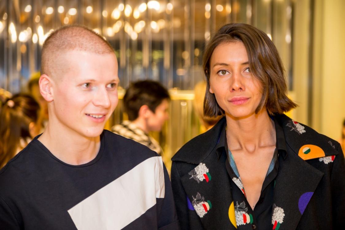 Веня Брыкалин и Юлия Пелипас