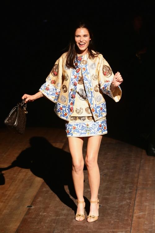 Dolce & Gabbana осень-зима 2014/2015