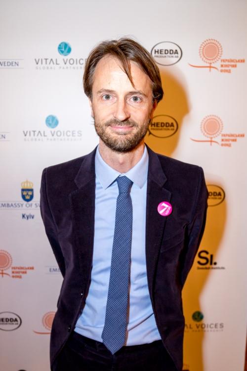 Посол Швеции в Украине Андреас фон Бекерат