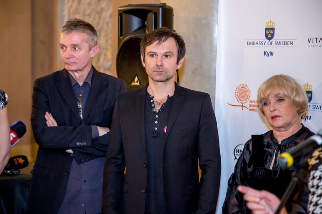 Александр Крыжановский, Святослав Вакарчук, Ада Роговцева