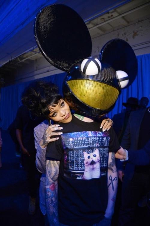 Рианна и Deadmau5