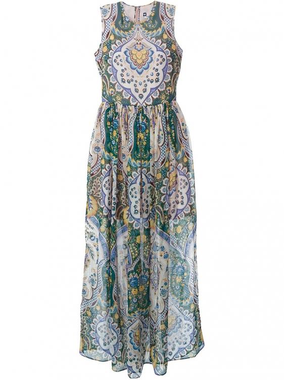 Платье из шифона, MSGM