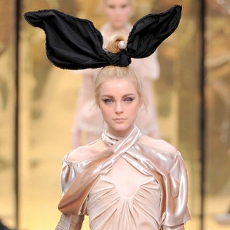 Джессика Стэм вспомнила показ Louis Vuitton осень-зима 2009/2010