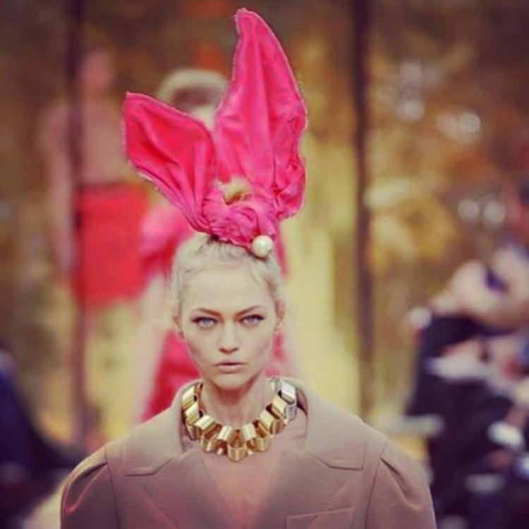 Саша Пивоварова вспомнила Louis Vuitton осень-зима 2009/2010