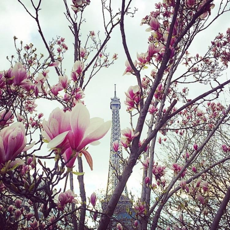 Карли Клосс отметила Пасху в Париже