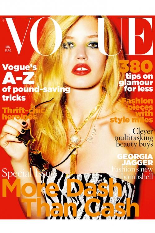 Британский Vogue, ноябрь 2009. Фотограф: Марио Тестино