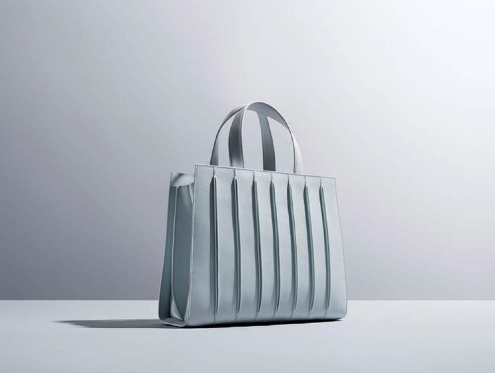 Сумка MaxMara Whitney Bag в серо-голубом оттенке