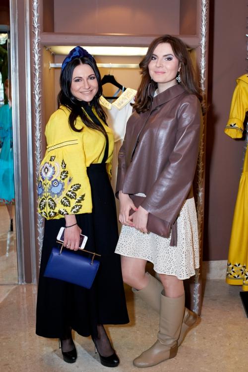 Анастасия Жолинская и Дарья Карякина