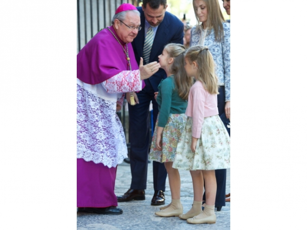 Принц и Принцесса Астурийские с дочерьми