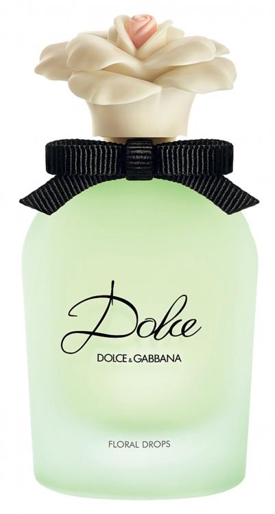 Туалетная вода с нотами водяной лилии, нероли и нарциссов Dolce Floral Drops, Dolce & Gabbana, 75 мл, 3119 грн