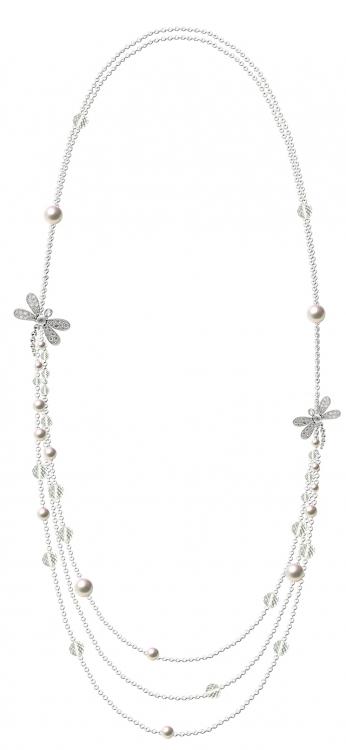 Сотуар Libellules, белое золото и бриллианты, Mathon Paris