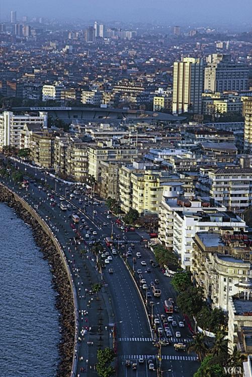 Набережная Мумбая – любимое место для прогулок местных жителей и туристов