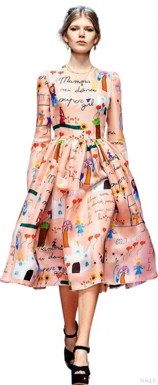 Dolce & Gabbana, осень-зима – 2015/2016