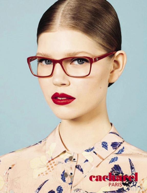 Рекламная кампания Cacharel Eyewear, весна-лето – 2013. Фотограф: Лоран Гумберт