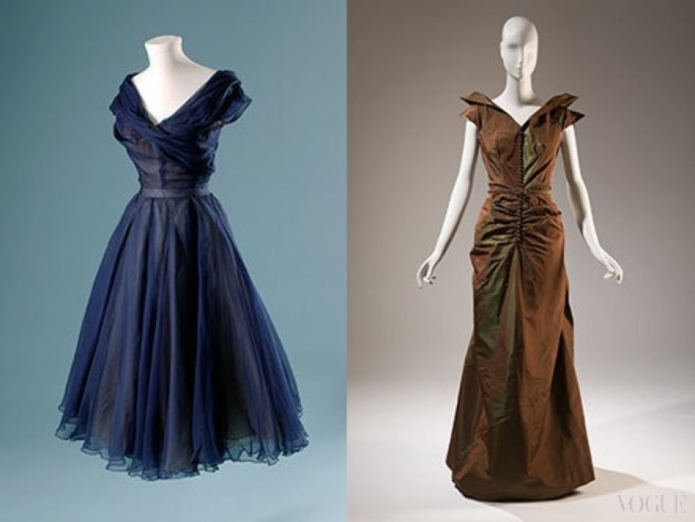 Christian Dior 1950 / Nettie Rosenstein 1938