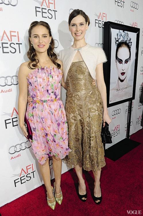 Мэри Хелен Бауэрс с актрисой Натали Портман