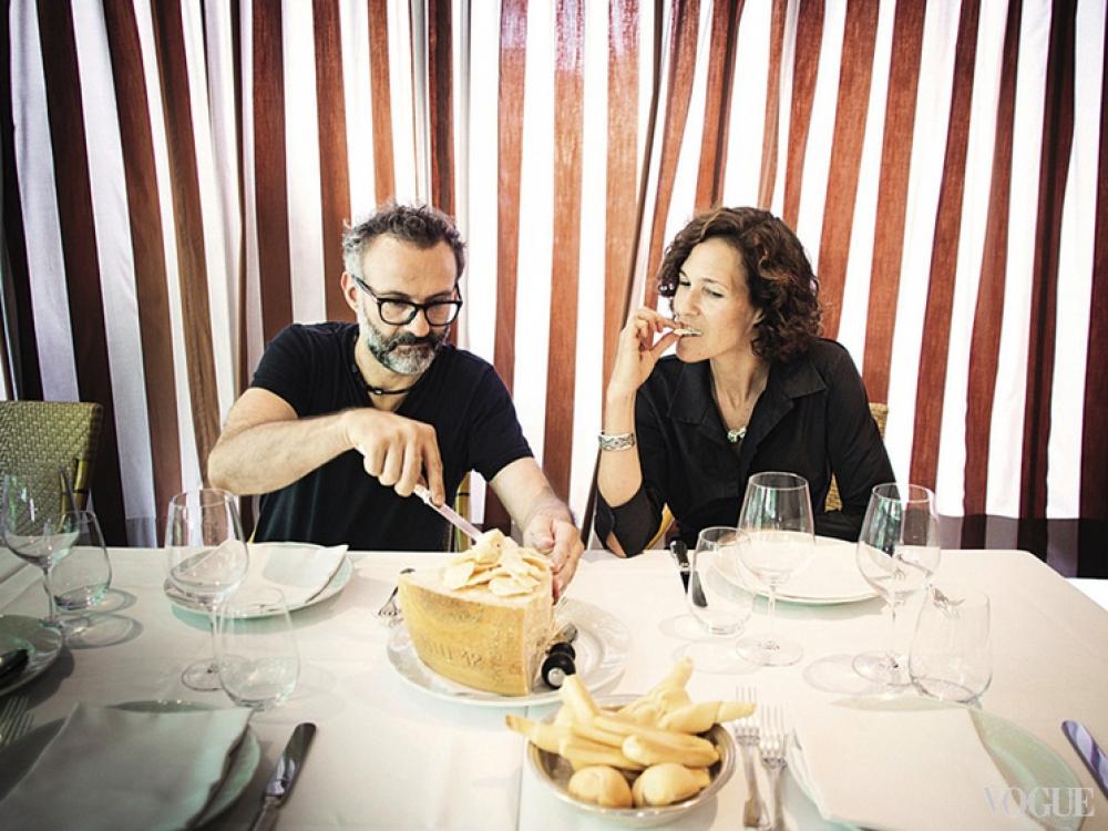 Супруги Массимо Боттура и Лара Гилмор давно и успешно работают в паре