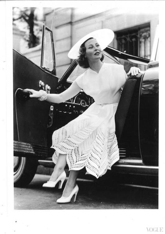 Мишель Морган в Carven, 1950-е