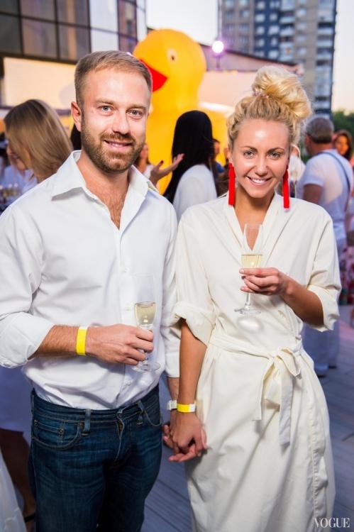Дмитрий Заходякин и Алина Косичкина