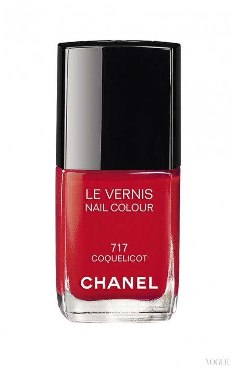 Лак Le Vernis, № 717 Coquelicot, Chanel