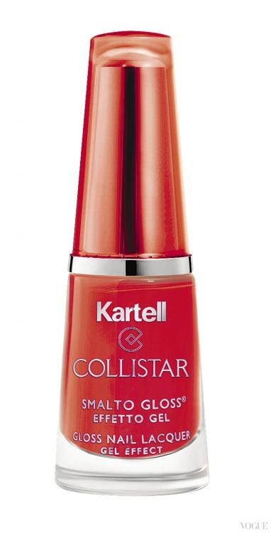 Лак с эффектом геля Gloss Nail Lacquer, оттенок Mobil, Collistar