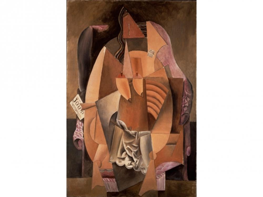 Пабло Пикассо «Женщина в кресле» 1913
